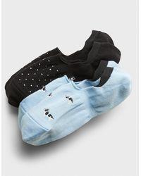 Banana Republic Factory Kitsch Print No-show Socks (2 Pack) - Blue