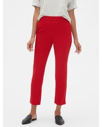 Banana Republic Factory Hayden Pull-on Tapered Fit Soft Ankle Pant