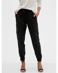 Banana Republic Factory Soft Cargo Pant - Black