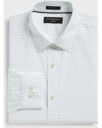 Banana Republic Factory Standard-fit Non-iron Shirt - Gray