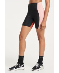 Beach Riot Ribbed Biker Short - Pink
