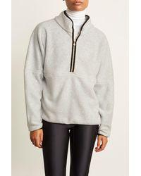 DONNI. Polar 1/2 Zip Pullover - Multicolor
