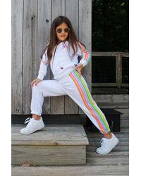 Aviator Nation 5 Stripe Kids Sweatpant - Multicolor