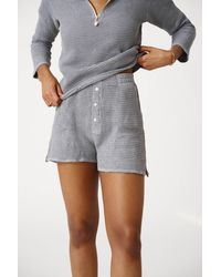 DONNI. The Waffle Short - Gray
