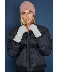White + Warren - Thermal Pop Top Glove - Lyst