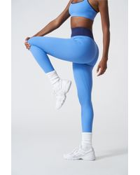 All Access High Waisted Center Stage Legging - Blue