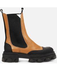 Ganni Mid Chelsea Boot - Black