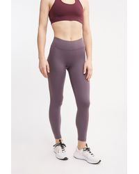 All Access Mid Rise Center Stage Legging - Purple