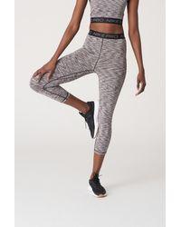 Nike Pro High-waisted Crop Space-dye Leggings - Black