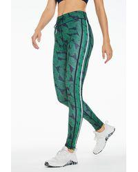 The Upside Palm Leaf Yoga Pants - Green