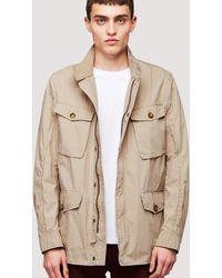 Baracuta Field Jacket Iconic Wash - Natural