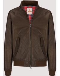 Baracuta - G9 Leather - Lyst