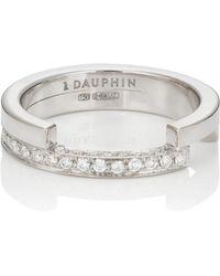 Dauphin - White Diamond Ring - Lyst
