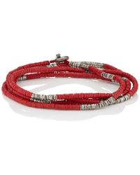 M. Cohen - Rondelle-bead Wrap Bracelet - Lyst