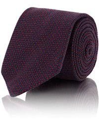 Petronius - Crosshatched Cashmere Necktie - Lyst