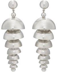 Agmes   Large Bell Earrings   Lyst