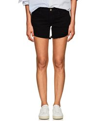 FRAME - Le Cut Off Denim Shorts - Lyst