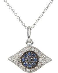 Ileana Makri - Kitten Eye Pendant Necklace - Lyst