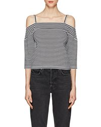 Robert Rodriguez - Striped Stretch-cotton Cold - Lyst