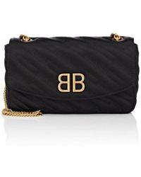 d73376d4b5 Lyst - Givenchy 2015 Jacquard Pandora Box Bag Black in Metallic