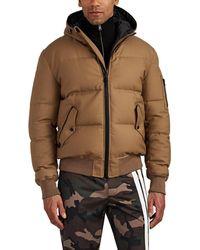 Aztech Mountain - Shadow Mountain Down Wool Bomber Jacket - Lyst
