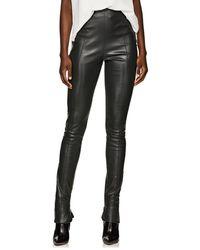 The Row - Hailen Leather Leggings - Lyst
