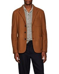 Barena - Knit Wool-blend Three-button Sportcoat - Lyst