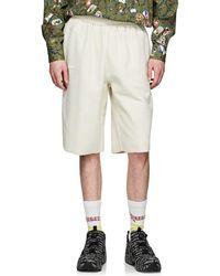 Vetements - Cotton-blend Inside-out Drop-rise Shorts - Lyst