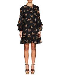 A.L.C. - Cassidy Floral Silk Crepe Dress - Lyst