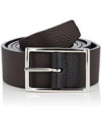 Barneys New York - Reversible Leather Belt - Lyst