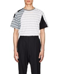 GmbH - Mixed-stripe Cotton T - Lyst