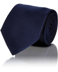Barneys New York - Solid Silk Satin Necktie - Lyst