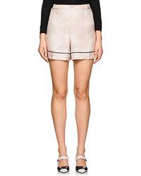 Prada | Silk Twill Pyjama Shorts | Lyst