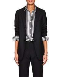 Officine Generale - W375 Wool Two-button Blazer - Lyst
