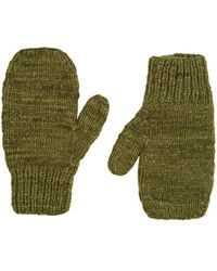 The Elder Statesman - Brushed Cashmere Mittens - Lyst
