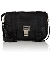 Proenza Schouler - Ps1+ Mini Leather Crossbody Bag - Lyst