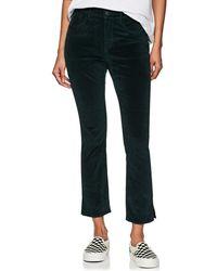 3x1 - Higher Ground Mini Split Velvet Pants - Lyst