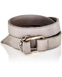 Hoorsenbuhs - Suede Wrap Bracelet - Lyst