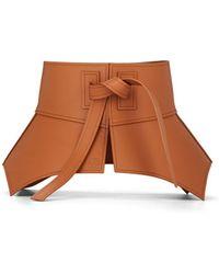 Loewe Obi Leather Waist Belt