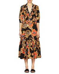 Warm - Sierra Floral Cotton Poplin Maxi Dress - Lyst