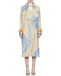 Fendi - Fil Coupé Organza Oversized Coat - Lyst