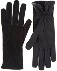 Barneys New York | Dotted Deerskin Gloves | Lyst