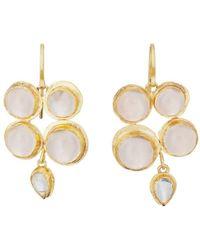 Judy Geib - Moonstone Drop Earrings - Lyst