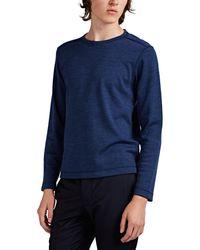 Eidos Wool Jersey Sweater - Blue