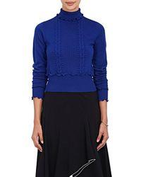 3.1 Phillip Lim - Mixed-stitch Wool-blend Turtleneck Sweater - Lyst