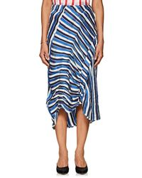 Zero + Maria Cornejo - Elise Striped Skirt - Lyst