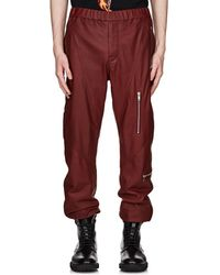 Givenchy - Leather Jogger Pants - Lyst
