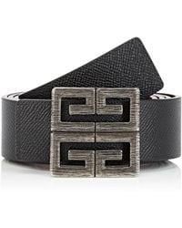 Givenchy - 4g Reversible Leather Belt - Lyst