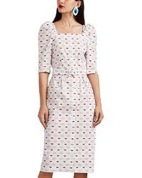 Vivetta - Printed Midi Dress - Lyst