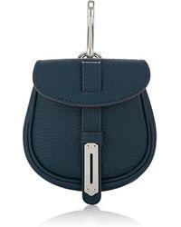 Fontana Milano 1915 - Mimosa Mini Leather Pouch Bag Charm - Lyst
